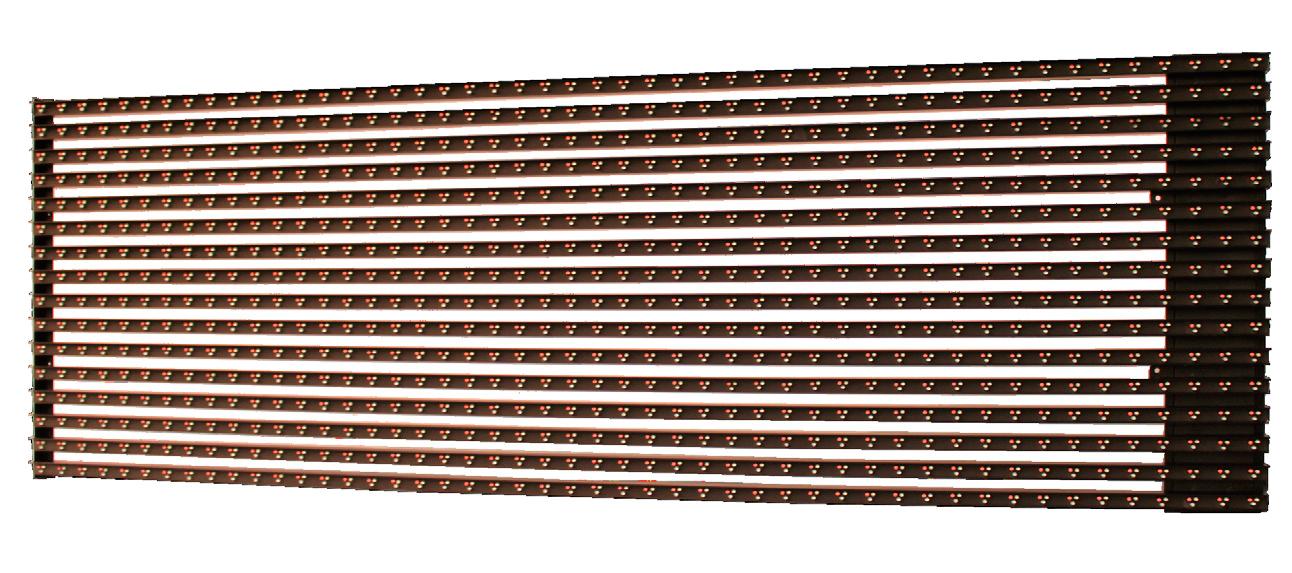 Светодиодная панель из полос